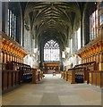 NS4863 : Paisley Abbey: the choir by Lairich Rig