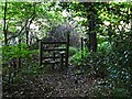 SP9207 : Cholesbury Camp (8) - Stile to northern footpath by Rob Farrow