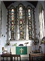 NZ1647 : Altar and Chancel of Lanchester Parish Church by Stanley Howe