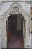 NZ1647 : Vestry doorway, Lanchester All Saints by Stanley Howe