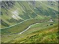 SN8355 : Cwm Irfon north-east of Abergwesyn, Powys by Roger  Kidd