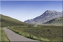 NG9356 : Road through Glen Torridon by Peter Moore