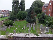 SX9292 : Jewish cemetery by Magdalen Street, Exeter by David Smith