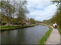 SK3155 : Cromford Canal at High Peak Jct. by Des Blenkinsopp