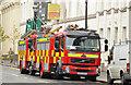 J3373 : Fire appliances, Belfast by Albert Bridge