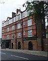 TQ2587 : Buildings on Hoop Lane by Andrew Hill