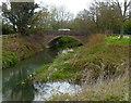SO5059 : Ridgemoor Bridge, Leominster by Jaggery