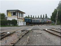 SO6302 : Lydney Junction [S&W] signal box by M J Richardson