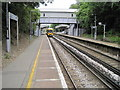 TQ4772 : Albany Park railway station, Greater London by Nigel Thompson