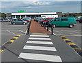 SS5998 : Path through the car park to Asda in Gorseinon by Jaggery