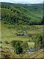 SN8056 : Across Cwm Tywi by Dolgoch, Ceredigion by Roger  Kidd