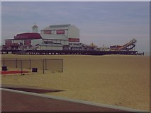 TG5307 : Britannia Pier - Great Yarmouth by Ed of the South