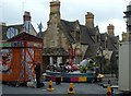 SP0228 : All the fun of the fair comes to Winchcombe by Andrew Hill