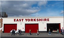 TA0828 : East Yorkshire - Anlaby Road bus depot, Hull by Neil Theasby