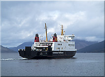 NS0964 : Calmac ferry departing from Rothesay by William Starkey