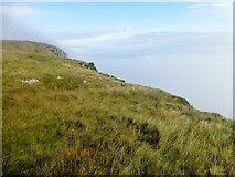 NG4198 : On The Edge Of Garbh Eilean by Rude Health