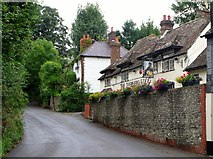 TQ2411 : Shepherd and Dog public house, Fulking by nick macneill