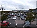 SO9399 : Retail park car park by JThomas