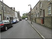 SE0824 : Conway Street - looking towards Parkinson Lane by Betty Longbottom