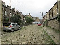 SE0824 : Vine Terrace - Swires Road by Betty Longbottom
