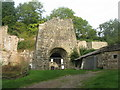 SO5610 : Whitecliff Furnace by M J Richardson