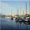SW4730 : Penzance Dock by Jonathan Billinger