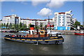 ST5872 : King John on Floating Harbour by Philip Halling