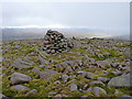 NN8984 : Summit cairn - Meall Tionail by Richard Law