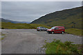 NM9891 : Car park at the road end by Nigel Brown