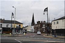 SJ8889 : The junction of Grenville Street and Castle Street, Edgeley by Bill Boaden