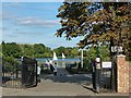 TQ3369 : The entrance to South Norwood Lake by Robin Drayton