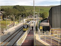 SD9311 : Newhey Tram Station by David Dixon