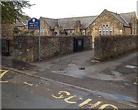 SK2168 : Bakewell C of E Infant School by Jaggery