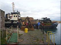 NT6779 : Coastal East Lothian : Sunday Afternoon Excitement at Victoria Harbour, Dunbar by Richard West