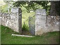 NJ3826 : The minister's gate by Stanley Howe