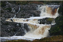 NH1282 : A Highland river in full spate by Des Colhoun