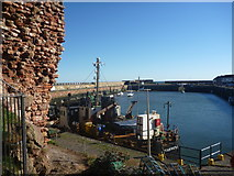 NT6779 : Coastal East Lothian ; Victoria Harbour, Dunbar by Richard West