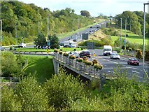 H4572 : Roundabout on the A5 at Omagh by Kenneth  Allen