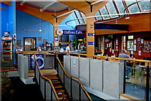 J4844 : Downpatrick - Daisies Cafe at upper level of St Patrick's Centre by Joseph Mischyshyn