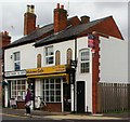 SP0857 : Cafe and dentist, Alcester by nick macneill