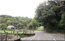 SH5840 : A498 approaching Portreuddyn by John Firth