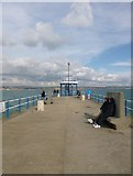 SY6878 : Weymouth, lookout by Mike Faherty