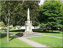 ST8260 : War Memorial, Bradford on Avon by Humphrey Bolton