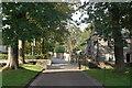 NJ9308 : Looking down Meston Walk, Old Aberdeen by Bill Harrison