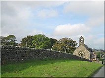 SE9898 : Drystone wall, Staintondale by Pauline E