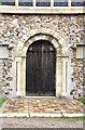 TL7911 : St Andrew, Hatfield Peverel - Doorway by John Salmon