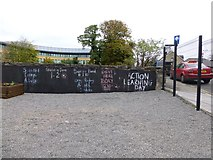 """H4572 : """"The writing is on the wall"""", Omagh by Kenneth  Allen"""