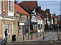 NZ2030 : Bishop Auckland - west end of Fore Bondgate by Dave Bevis