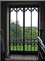 NZ2130 : Bishop Auckland - Castle - Gothic picture window by Dave Bevis