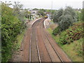 NS7063 : Bargeddie railway station, North Lanarkshire by Nigel Thompson